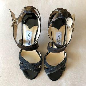 NEW JIMMY CHOO Lottie Sandals, Size 36.5